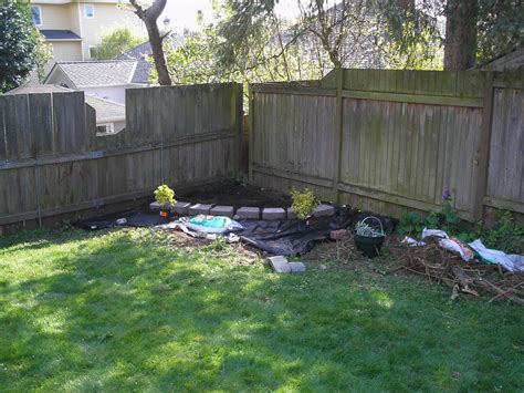 Backyard Corner by Modern Interior Corner Yard Landscaping Pictures