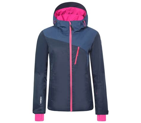 Vionita Jaket by Icepeak Tamara S Skis Jacket Blue Grey