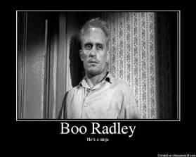 The vinyl yard boo radley