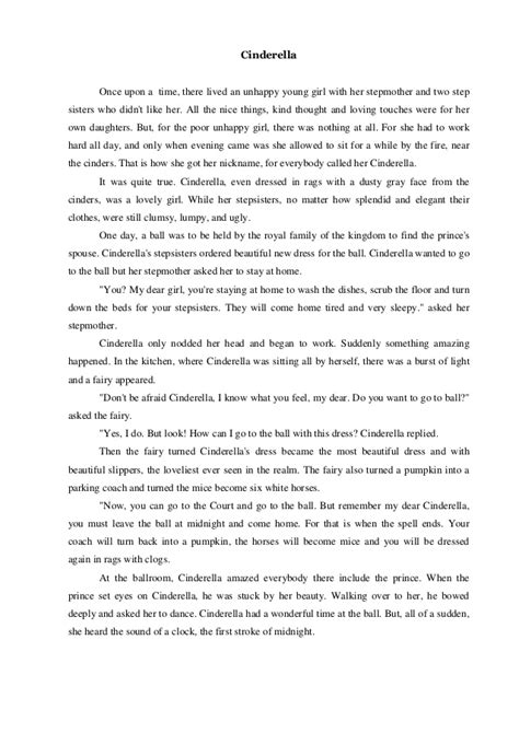 contoh text biography dalam bahasa inggris dongeng cerita bahasa inggris narrative text cinderella