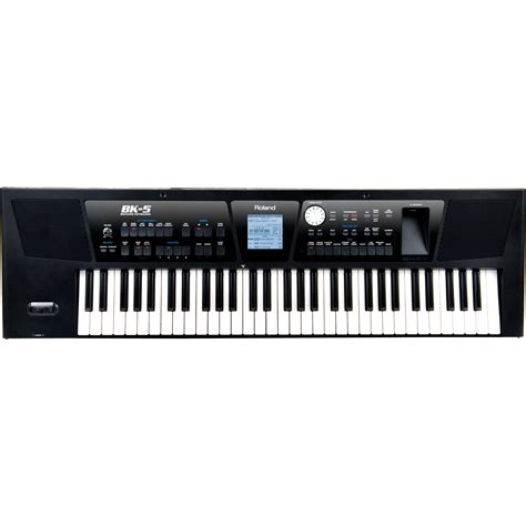 Keyboard Roland Bk 5 Roland Bk 5 61 Key Backing Keyboard Bk 5 B H Photo