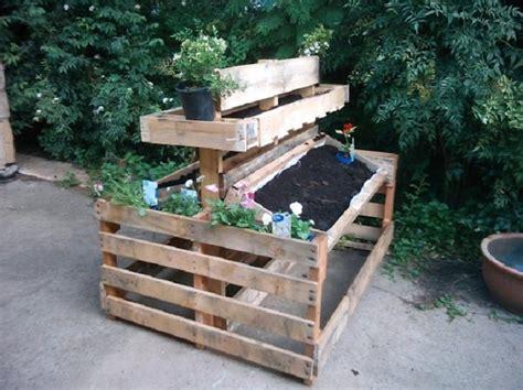 paletten ideen garten 15 recycled pallet planter ideas for a unique garden