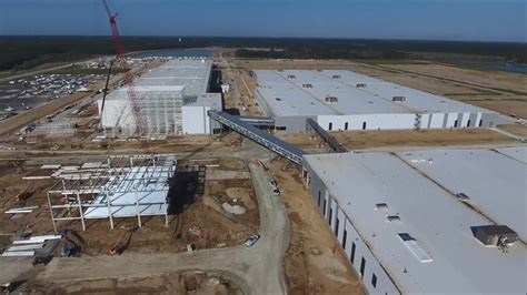 volvo cars usa operations aerial  plant youtube