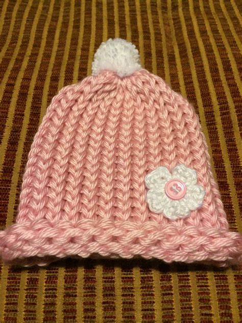 how to loom knit a baby hat 17 best images about knitting on stitches
