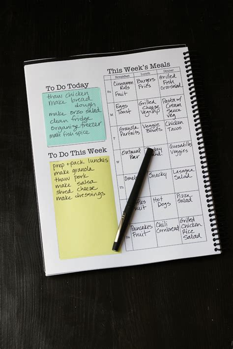 household planner household planner revealed a few free downloads
