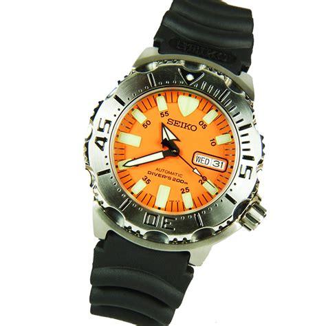 seiko dive watches seiko mens skx781k3 orange monsterautomatic dive