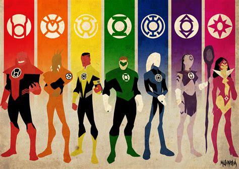 lantern corps colors green lantern all corps colors wallpaper