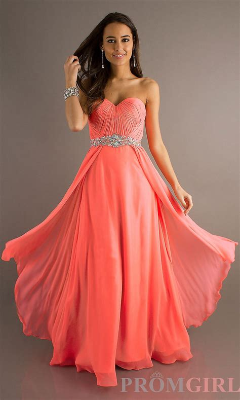 coral color dress coral prom dress prom dresses