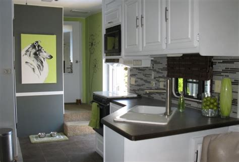 Camper Trailer Kitchen Designs by Rv And Camper Decor Series Diy Rv Design