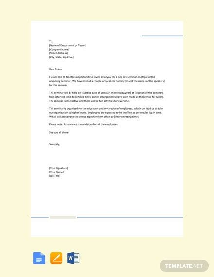 medical leave letter office template