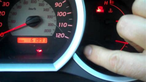 How To Reset Maintenance Required Light On Toyota Corolla How To Reset The Maint Reqd Light On A Toyota Tacoma After
