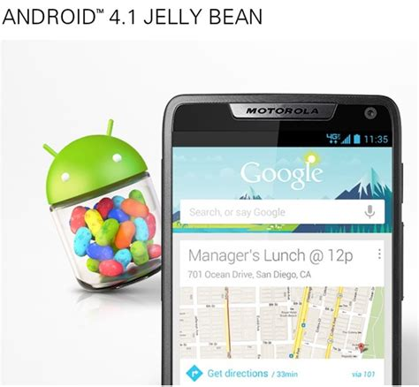 android 4 1 jelly bean razr i android 4 1 jelly bean update hits uk