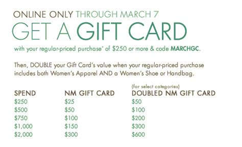 Neiman Gift Card Event - neiman marcus double gift card event luxejunkie101