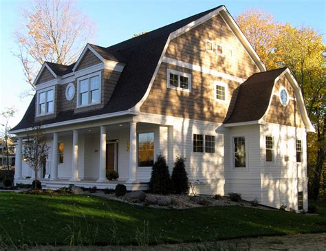 dutch gambrel shingle style dutch colonial exterior victorian
