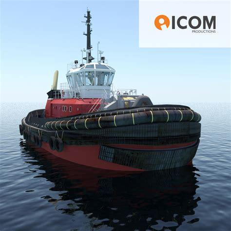 3d model tugboat type z peller length - Tugboat Length