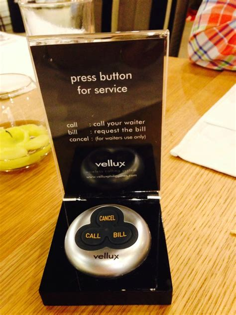 vellux wireless calling system for restaurants of