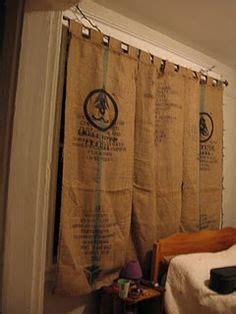 coffee bean sack curtains 1000 ideas about coffee sacks on pinterest burlap