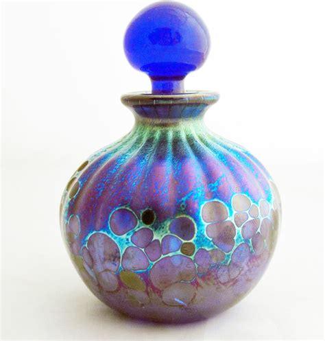 Handmade Glass Bottles - handmade glass perfume bottles modern decorative