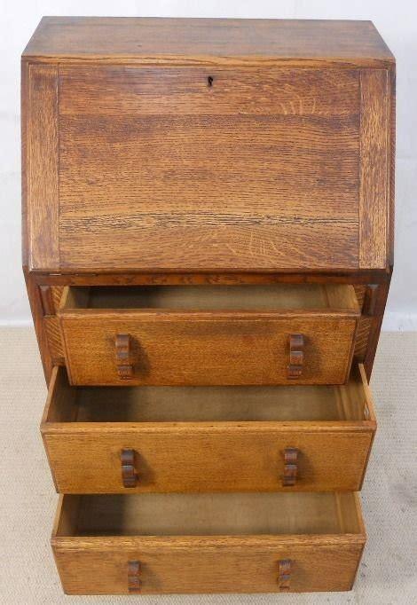 Small Solid Oak Writing Bureau Desk 154305 Small Bureau Desk Uk