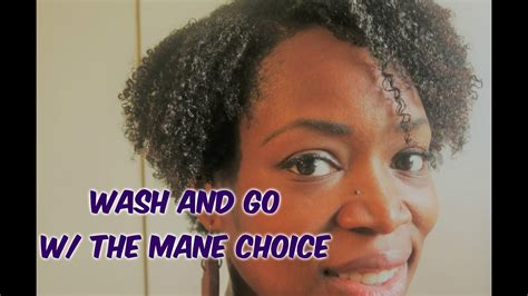 my wash n go the natural mane 208 wash and go with the mane choice on my 4b 4c