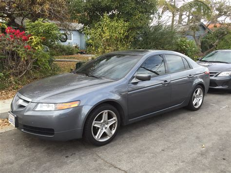 acura tl 6mt sold 2005 acura tl 6mt nav anthracite moon lake grey