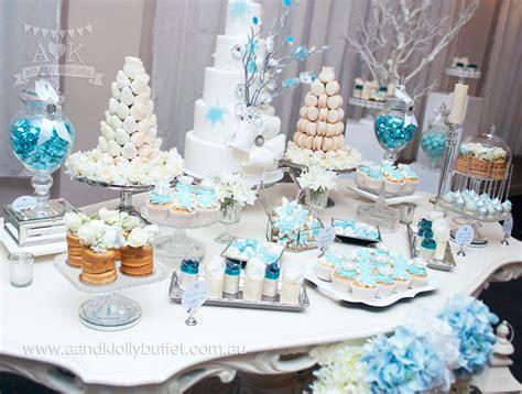 winter wonderland themed 21st birthday party