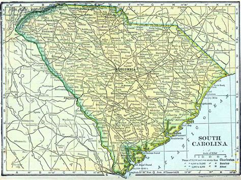 South Carolina Search Printable Outline Of Map Of South Carolina Search