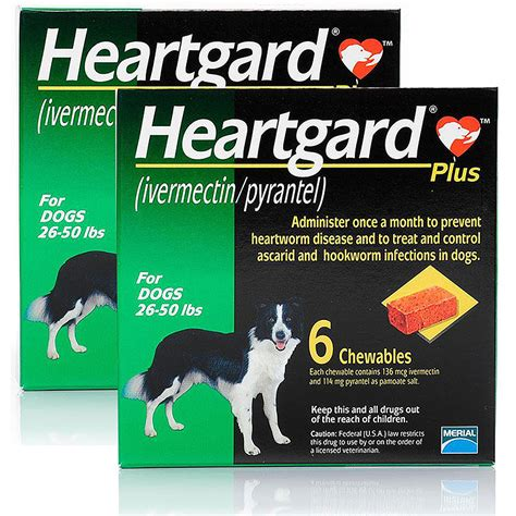 heartgard plus for dogs 26 50 lbs heartgard plus for dogs 26 50 lbs 12 mnth