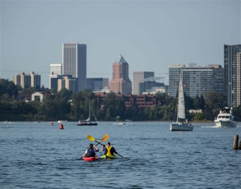 kayaking in and around portland travel portland