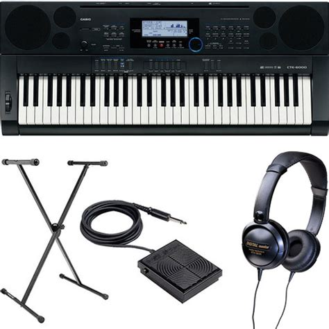 Baru Keyboard Casio Ctk 6000 casio ctk 6000 61 key keyboard basics b h kit b h photo