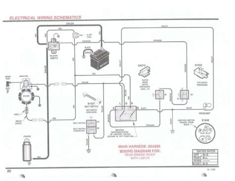murray 405000x8 wiring diagram wiring diagrams
