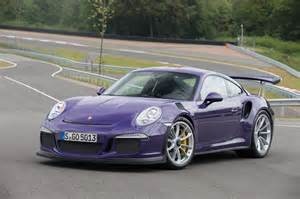 Porsche Rs Gorgeous Ultraviolet Porsche 911 Gt3 Rs Gtspirit