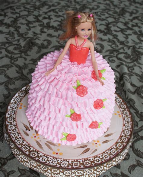 doll design birthday cake montreal confections doll birthday cake