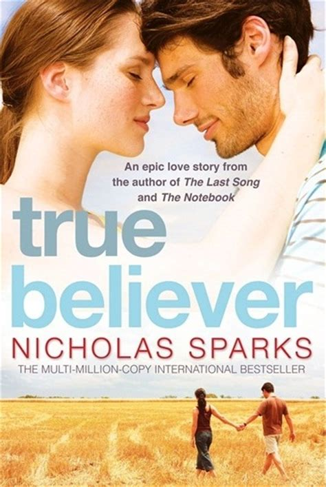 the true believers books nicholas sparks uk books