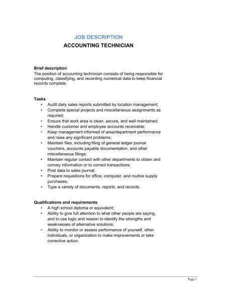 9 Job Description Templates Word Excel Pdf Formats Description Outline Template