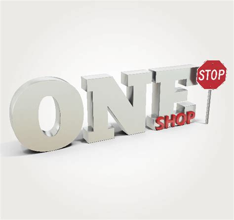 one stop shop one stop shopping