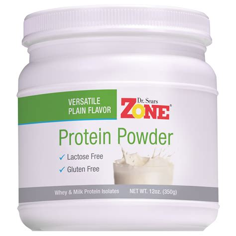 protein powder dr sears zone protein powder gluten free and lactose free