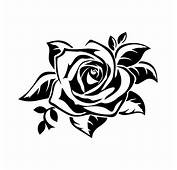 1pcs 1713cm Body Car Sticker Anime Charm Rose Flowers