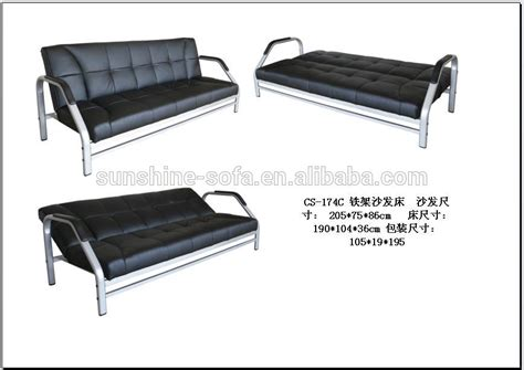 metal framed sofa bed metal framed sofa bed 3 seater sofa bed futon converts