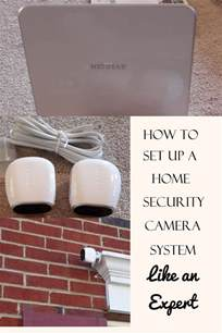 how to set up a home security system like an expert