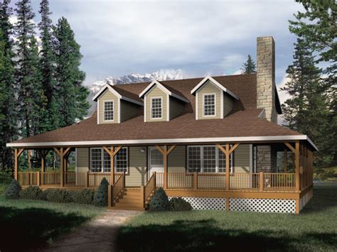 Wrap Around Porch Home Plans by Rustic House Plans With Wrap Around Porches Rustic House
