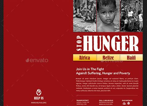 8 Spectacular Charity Brochure Templates to Promote Social