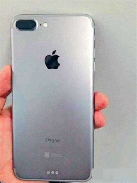 potential photo of iphone 7 plus shows dual lens and smart connector macrumors