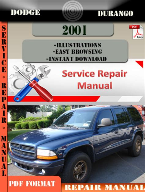 dodge durango 2001 factory service repair manual pdf zip download