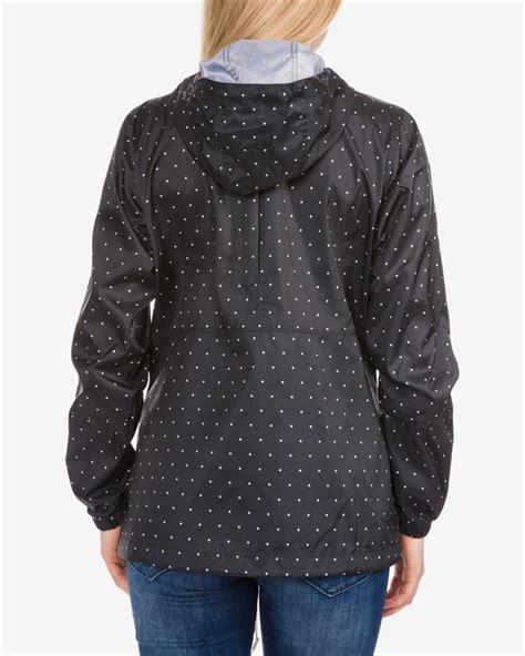 columbia flash forward windbreaker womens jacket l black