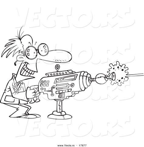 laser gun coloring page free laser gun clipart 26