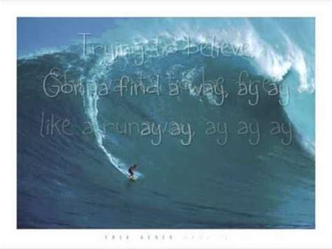 Runaway Mat Kearney by Runaway Mat Kearney Soul Surfer Lyrics On Screen