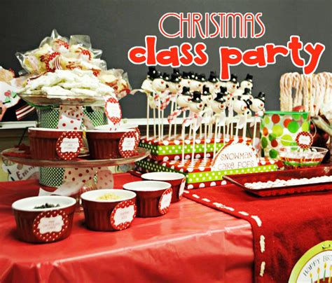 christmas class party xmasblor
