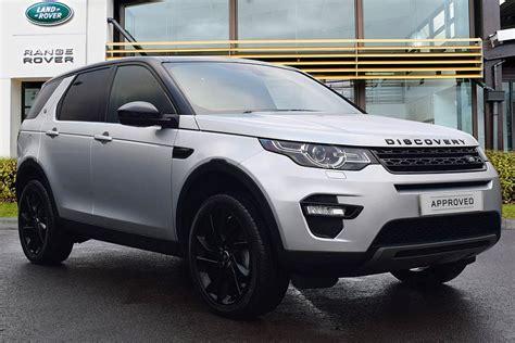 land rover discovery black 2016 used 2016 land rover discovery sport td4 hse black for