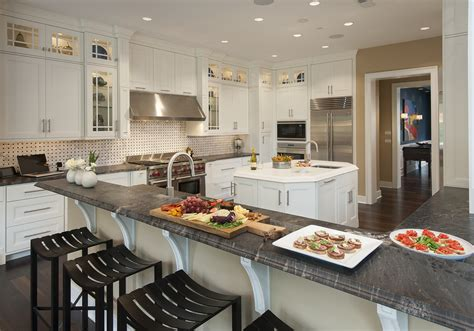 Titanium Granite Countertops With White Cabinets by Titanium Granite White Cabinets Backsplash Ideas